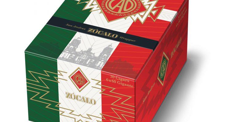 CAO ZÓCALO cigar box