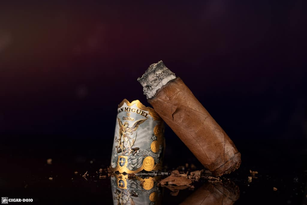 Gurkha San Miguel Toro cigar nub finished
