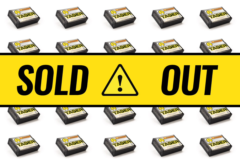 Protocol Taser cigars sold out