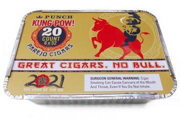 Punch Kung Pow cigars box