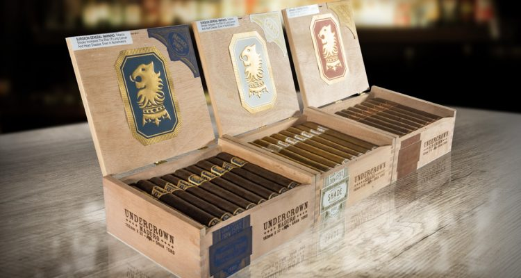 New Undercrown Cigar Boxes