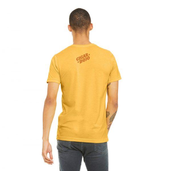 Cigar Dojo Gold *Insignia* Shirt back