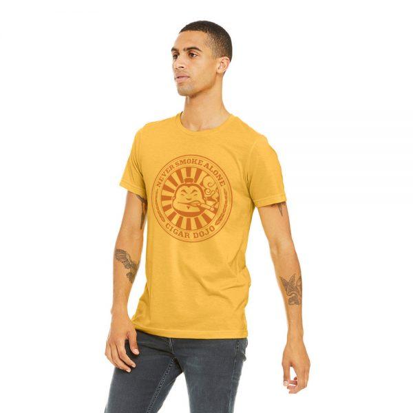 Cigar Dojo Gold *Insignia* Shirt front model