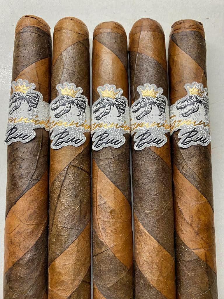 Jas Sum Kral Tyrannical Buc Barberpole cigars