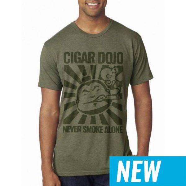 Dojo Military Green Shirt NEW