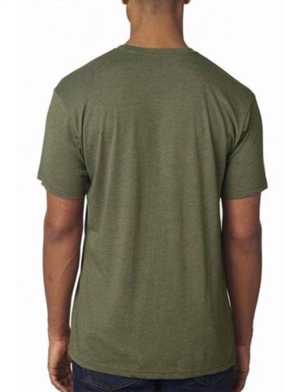 Dojo Military Green Shirt back