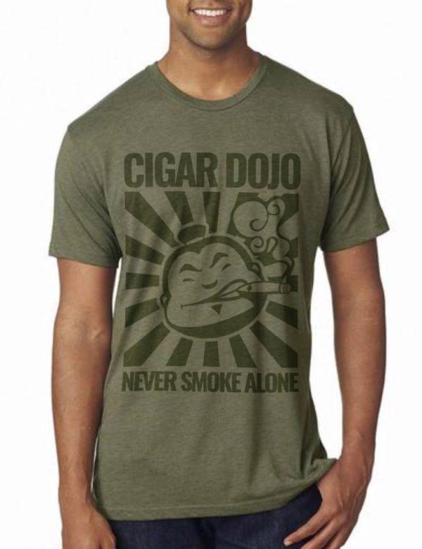Dojo Military Green Shirt front