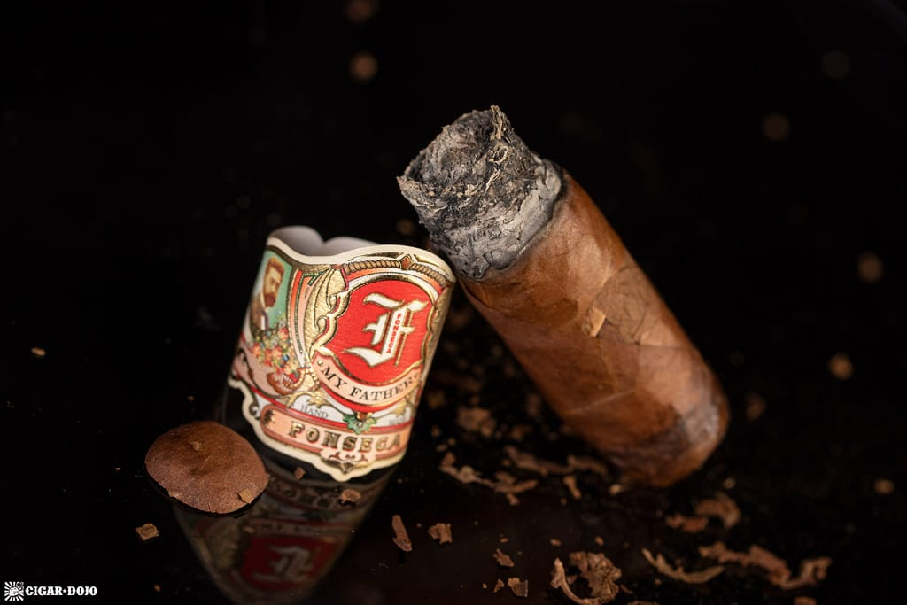 My Father Fonseca Cedros cigar nub finished