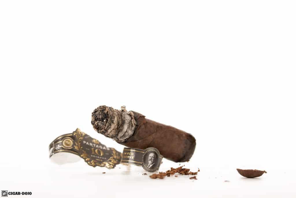 Partagas Limited Reserve Decadas 2020 cigar nub finished