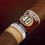 Alec Bradley Project 40 Maduro 05.50 cigar band
