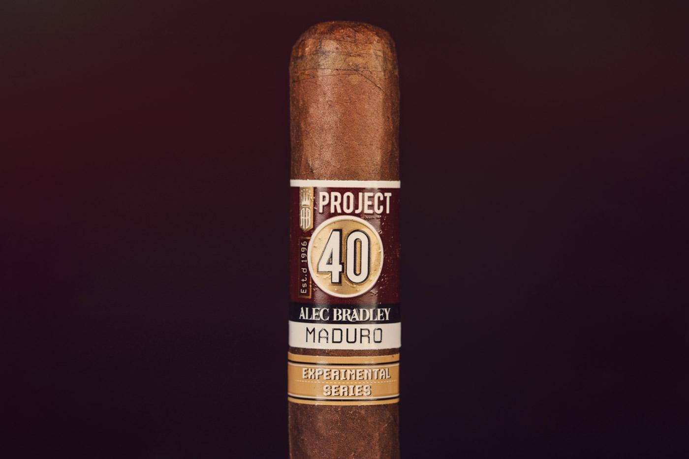 Alec Bradley Project 40 Maduro 05.50 cigar review