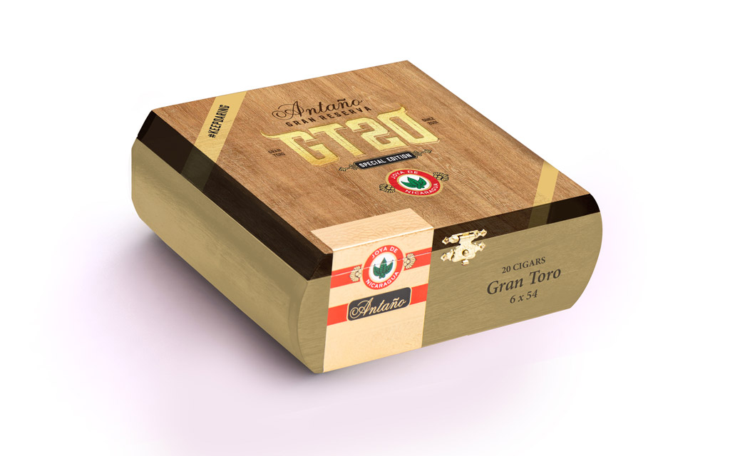Joya de Nicaragua Antaño Gran Reserva GT20 cigar box closed