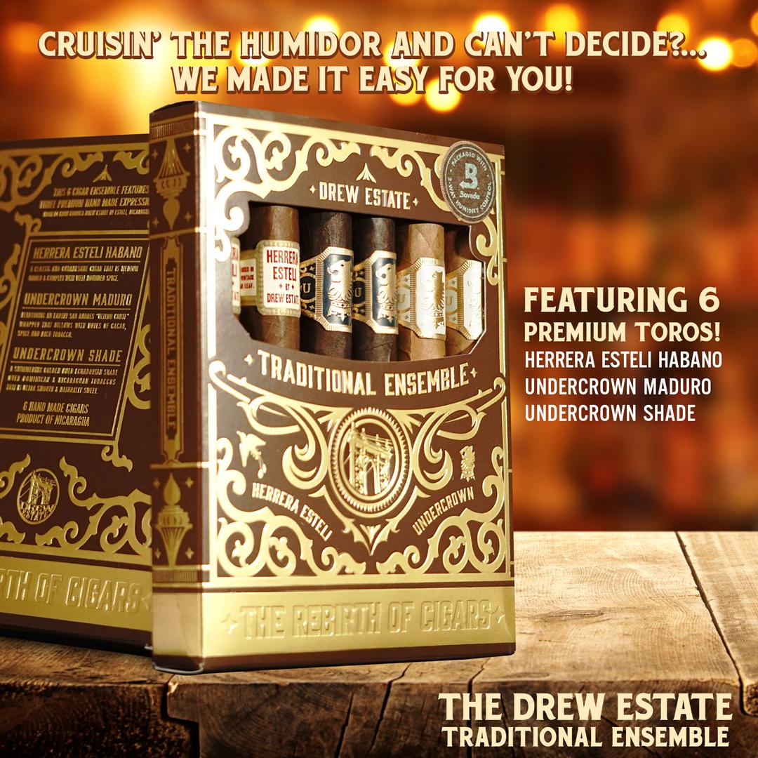 Drew Estate Traditional Ensemble graphic