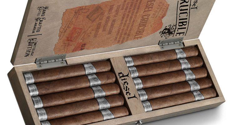 Diesel Crucible cigar box open
