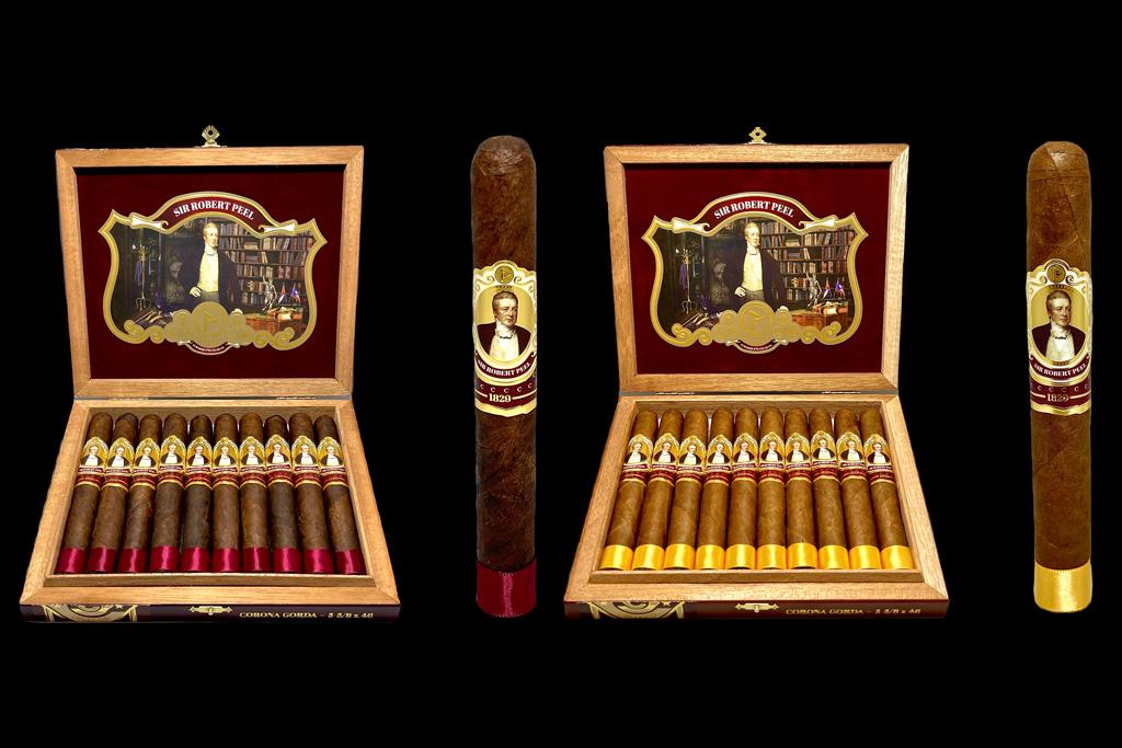 Protocol Sir Robert Peel corona gorda cigars