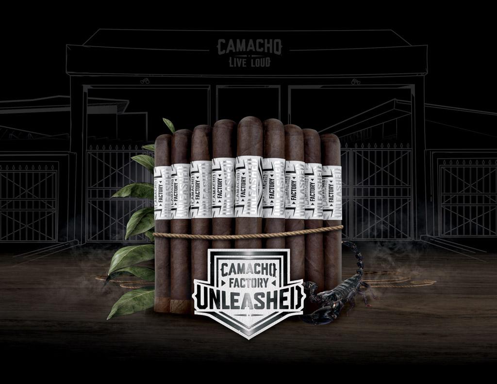 Camacho Factory Unleashed cigars glamour photo