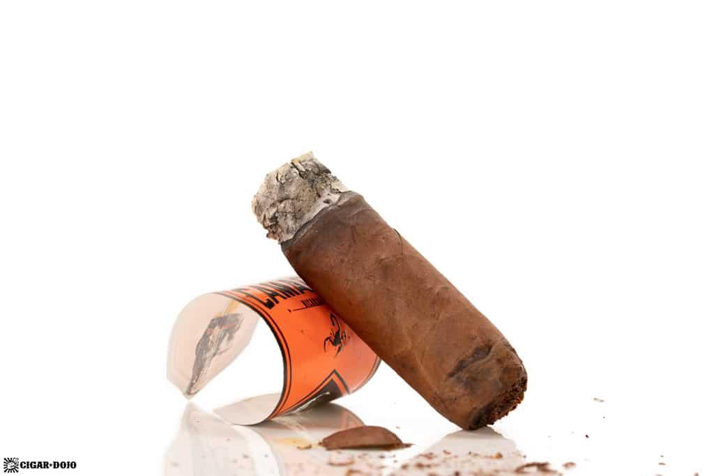 Camacho Nicaragua Robusto cigar nub finished