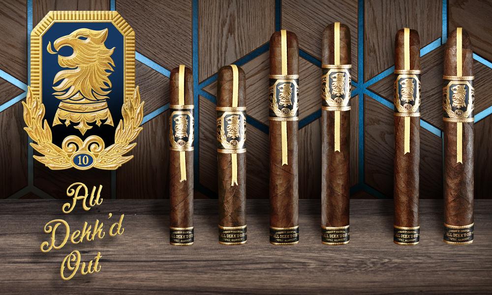 Drew Estate Undercrown 10 cigar lineup
