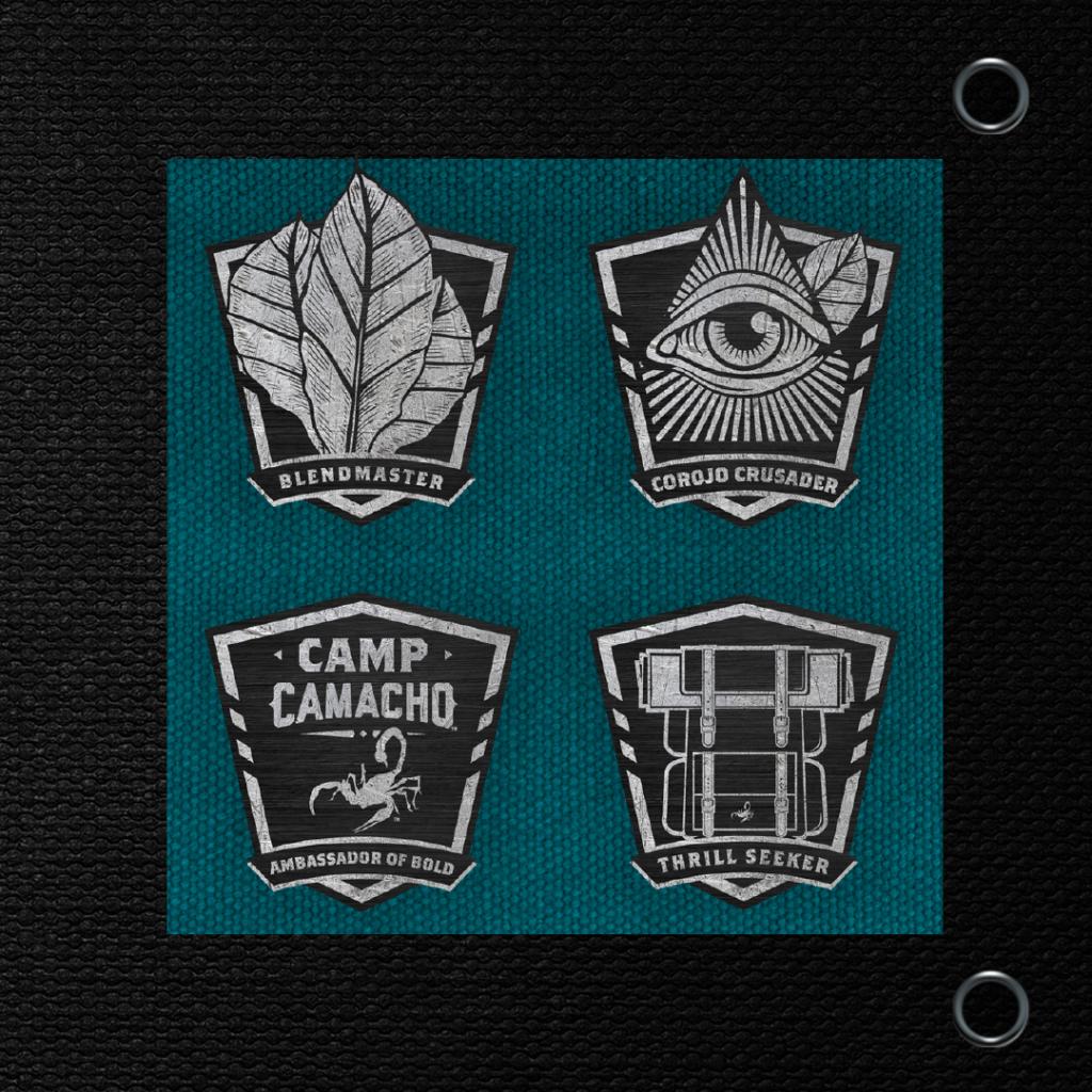 Camp Camacho Dojoverse shields