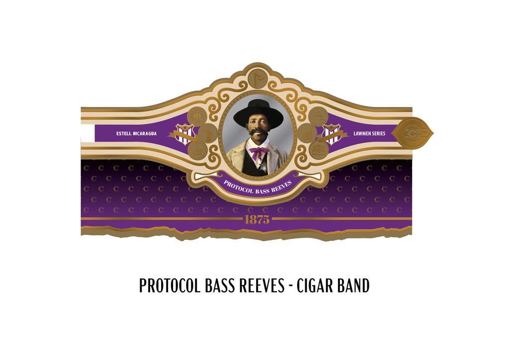 Protocol Bass Reeves cigar band