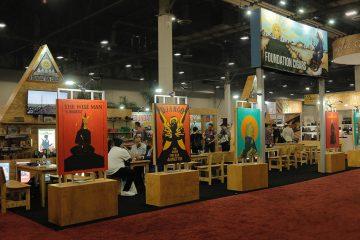 Foundation Cigar Co. PCA trade show booth