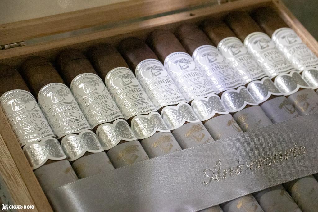 Aganorsa Leaf Aniversario Maduro cigars PCA 2021