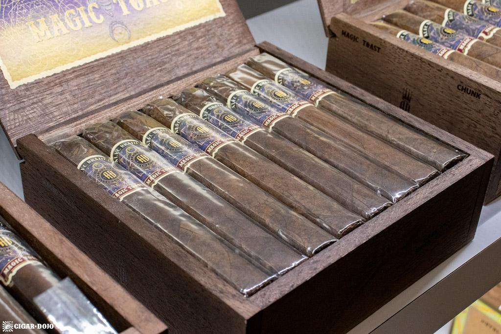 Alec Bradley Magic Toast Box Pressed Gran Toro cigars PCA 2021