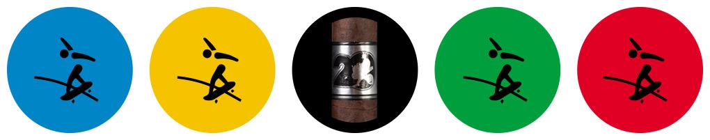 Cigar Olympics Skateboarding ACID 20 cigar