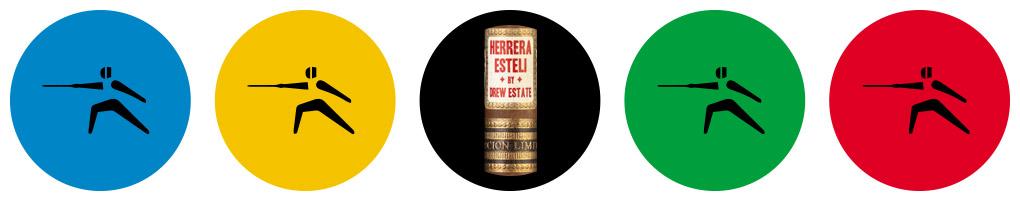 Cigar Olympics Fencing Herrera Esteli Limitada Lancero cigar