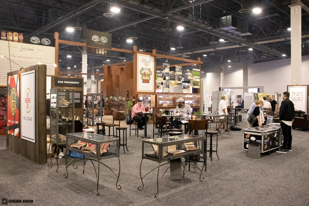 Crowned Heads booth PCA 2021