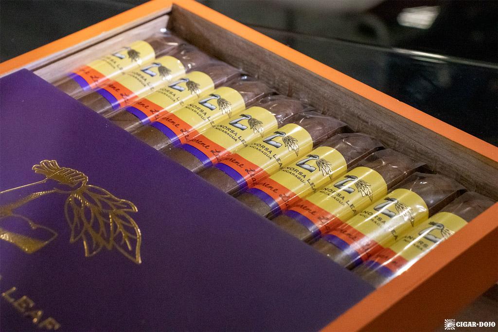 Aganorsa Leaf Supreme Leaf Torpedo cigars PCA 2021