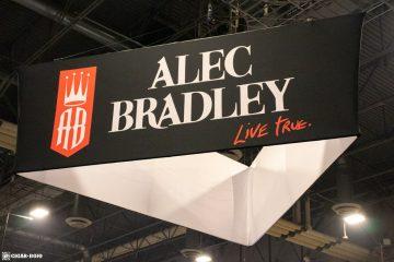 Alec Bradley booth sign PCA 2021
