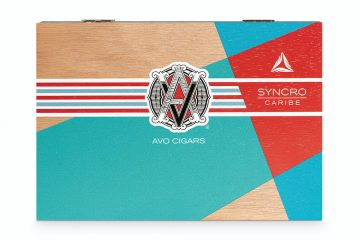 AVO Syncro Caribe cigar box closed