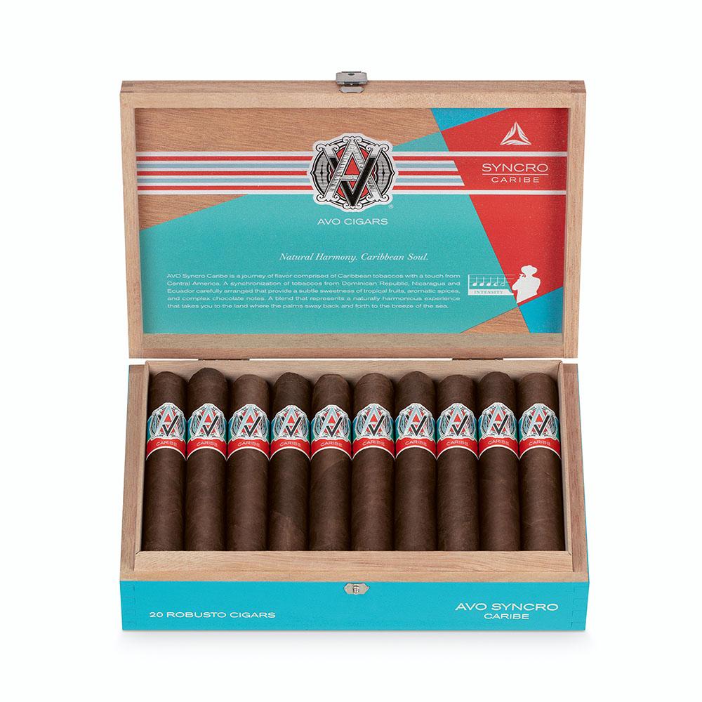 AVO Syncro Caribe cigar box open