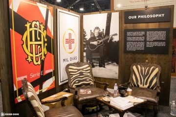 Crowned Heads booth lounge PCA 2021