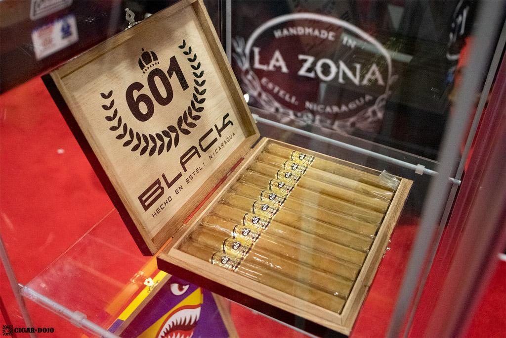 Espinosa Premium Cigars 601 Black cigar box PCA 2021