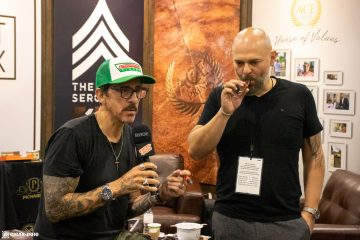 ACE Prime Cigars booth PCA 2021