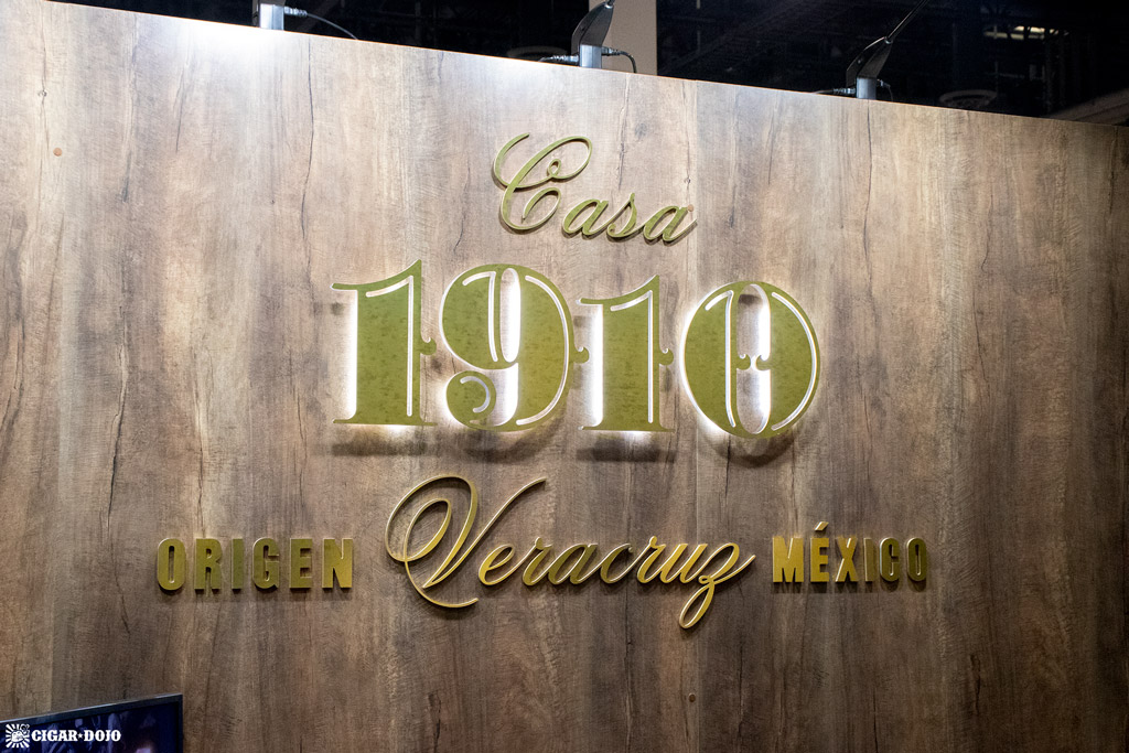 Casa 1910 booth sign PCA 2021