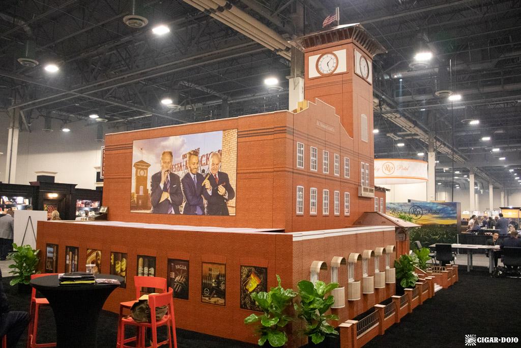 J.C. Newman El Reloj factory booth PCA 2021