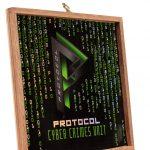 Protocol Cyber Crimes Unit Churchill cigar box lid vista