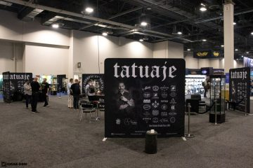Tatuaje Cigars booth PCA 2021