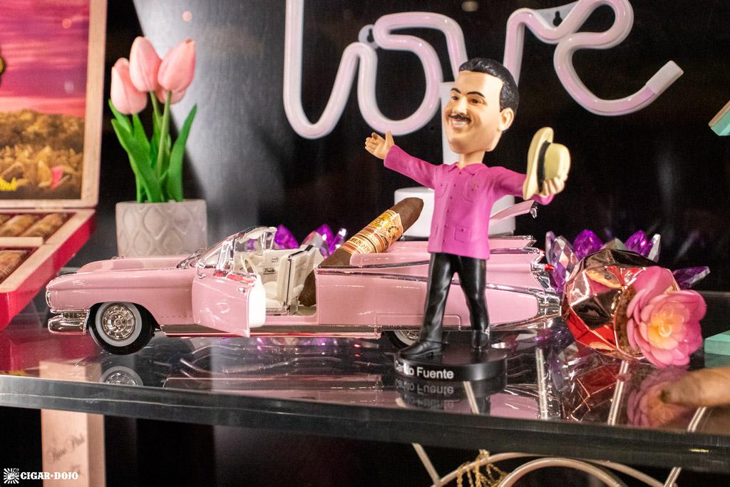 Arturo Fuente pink display PCA 2021