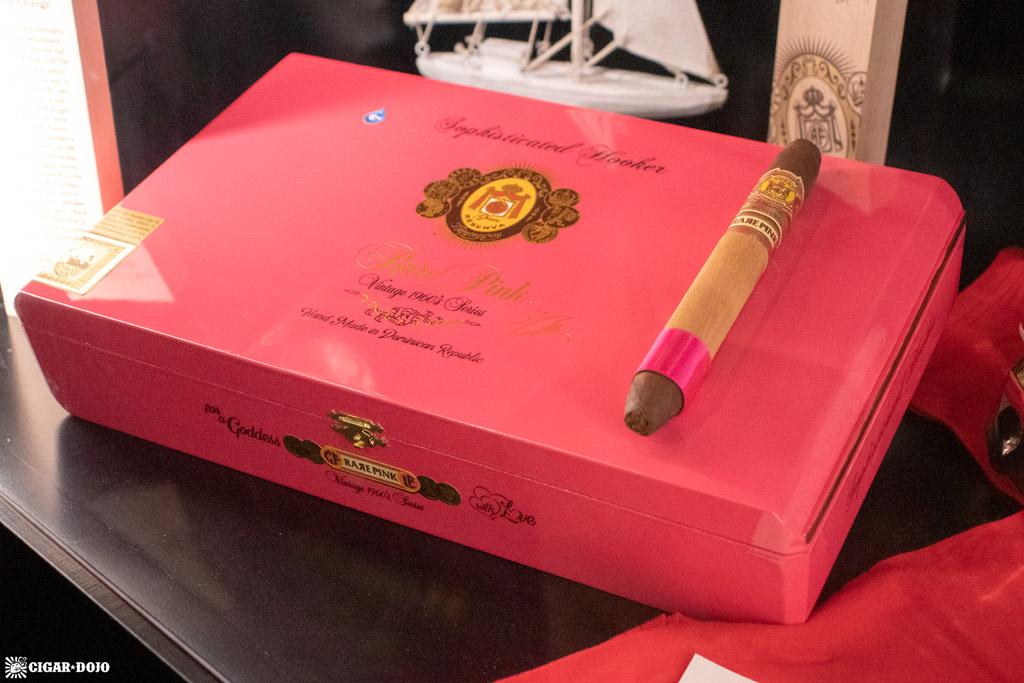 Arturo Fuente Rare Pinks Sophisticated Hooker cigars PCA 2021