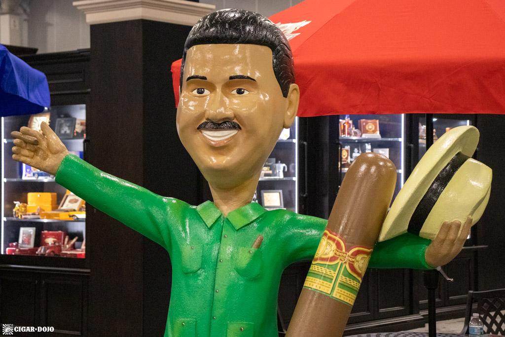 Arturo Fuente Carlito bobble head statue PCA 2021