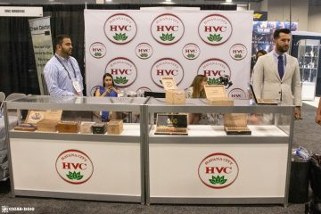 HVC Cigars booth PCA 2021