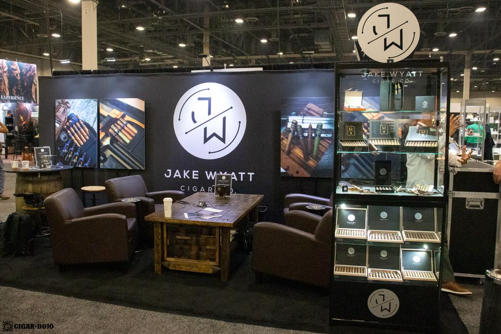 Jake Wyatt Cigar Co. booth PCA 2021
