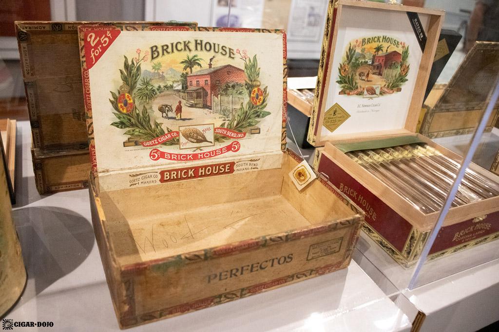 J.C. Newman vintage Brick House cigars PCA 2021