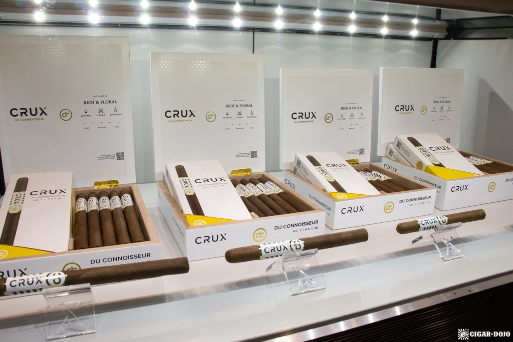 Crux du Connoisseur cigars updated packaging PCA 2021